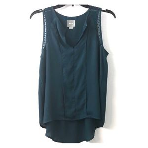 Anthropologie - Maeve Brand - Teal Top - Size 4